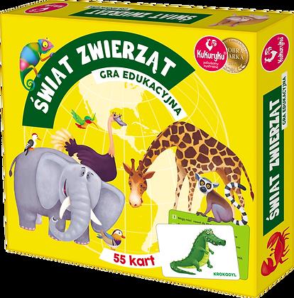 Świat zwierząt - gra edukacyjna