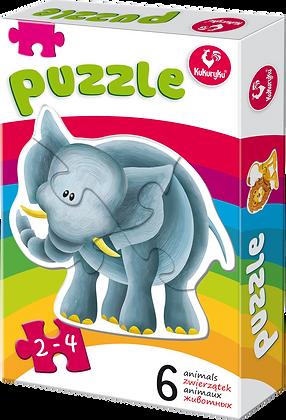 Pierwsze puzzle zwierzątka 2