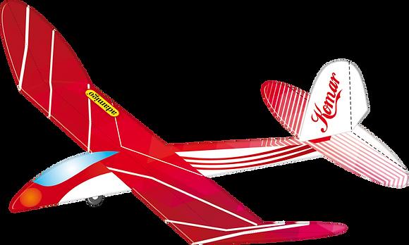 Latający model szybowca Komar
