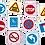 Thumbnail: Znaki drogowe - Adamigo Memory