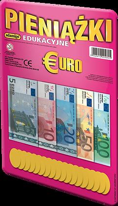 Pieniążki edukacyjne Euro