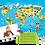 Thumbnail: Świat zwierząt - gra edukacyjna