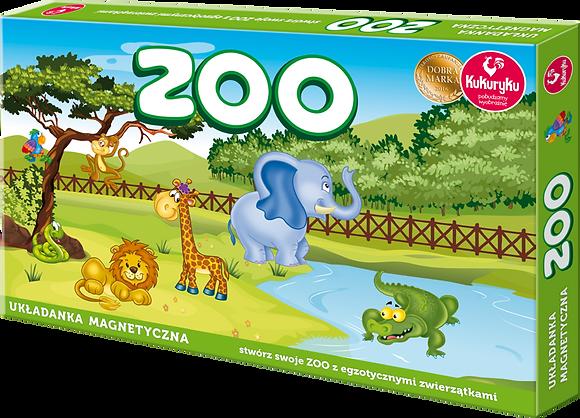 Zoo układanka magnetyczna