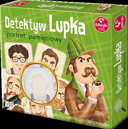 Detektyw Lupka - portret pamięciowy