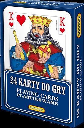 Karty do gry 24 listkowe