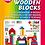 Thumbnail: Klocki drewniane kolorowe w wózku