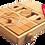 Thumbnail: Klocki drewniane naturalne w wózku