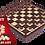 Thumbnail: Szachy i warcaby drewniane