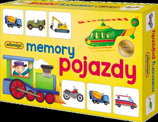 Pojazdy - mini memory