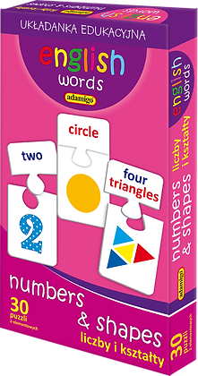 English words - Numbers & Shapes