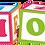 Thumbnail: Klocki edukacyjne - alfabet
