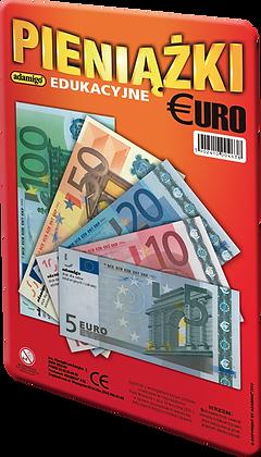 Pieniążki edukacyjne Euro banknoty