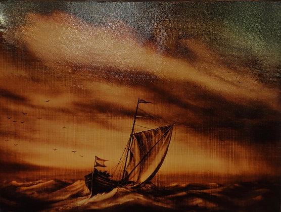 Der Sinken Yacht