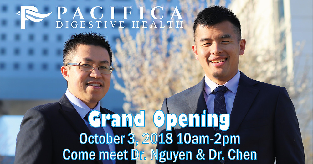 Pacifica Grant Opening Event Poster