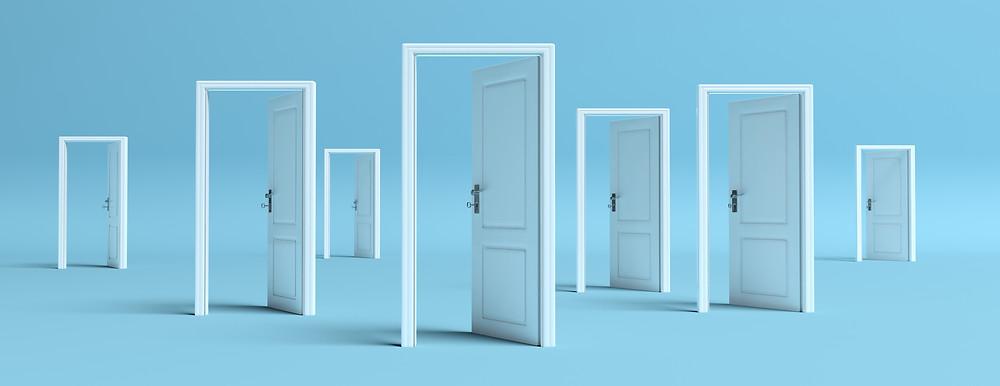 Las oportunidades son cómo las puertas, si no las abres no sabes que hay del otro lado.
