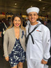 Mother Attends New Sailor's Graduation