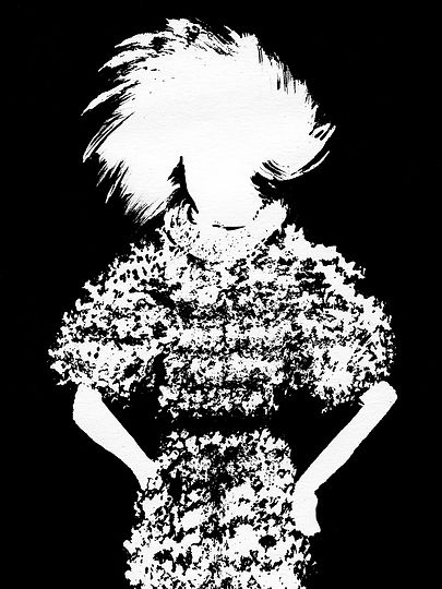 Amelie Ambroise Illustration Chanel