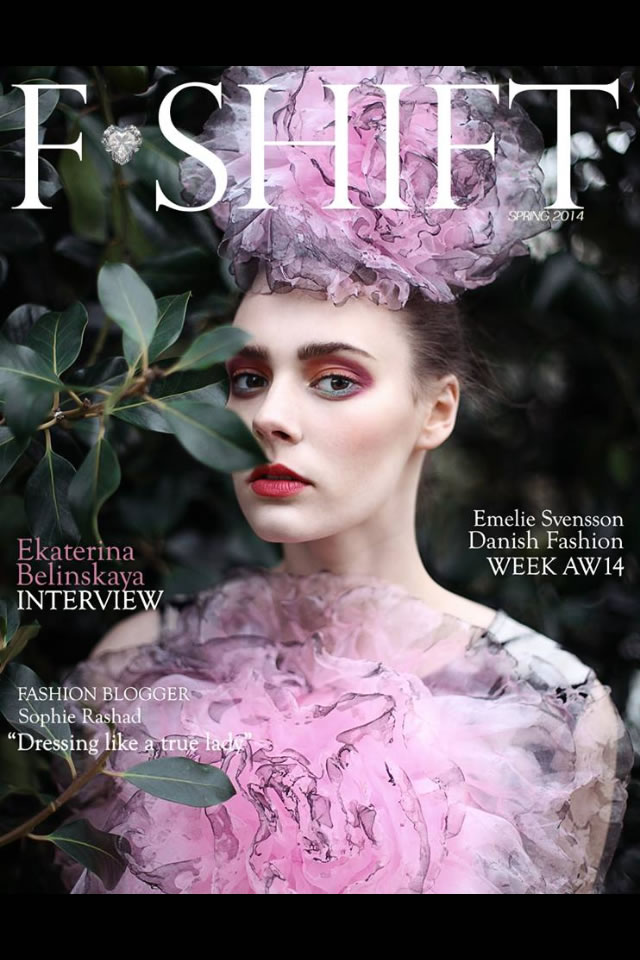 Fashion ShiftMagazine Cover