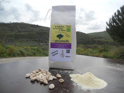 Farina di Cicerchie di Aidone  Bio molita a pietra conf. 500 g