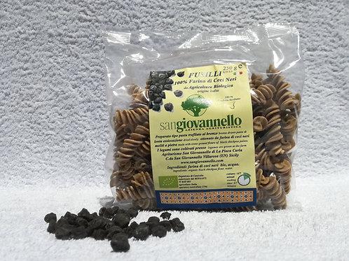 Fusilli 100% farina di ceci neri   Bio conf. 250 g