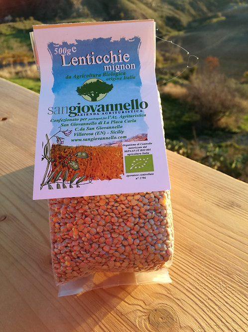 Lenticchie mignon conf 500 g