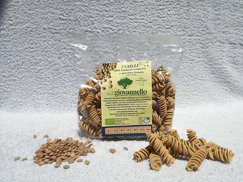 Fusilli 100% farina di lenticchie Bio conf. 250 g
