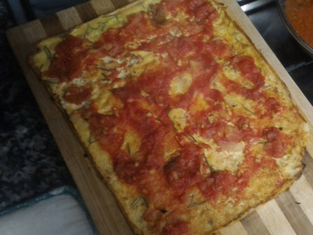 Farinata o pizza alla marinara?