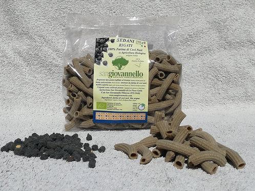 Sedani rigati  100% farina di ceci neri   Bio conf. 250 g