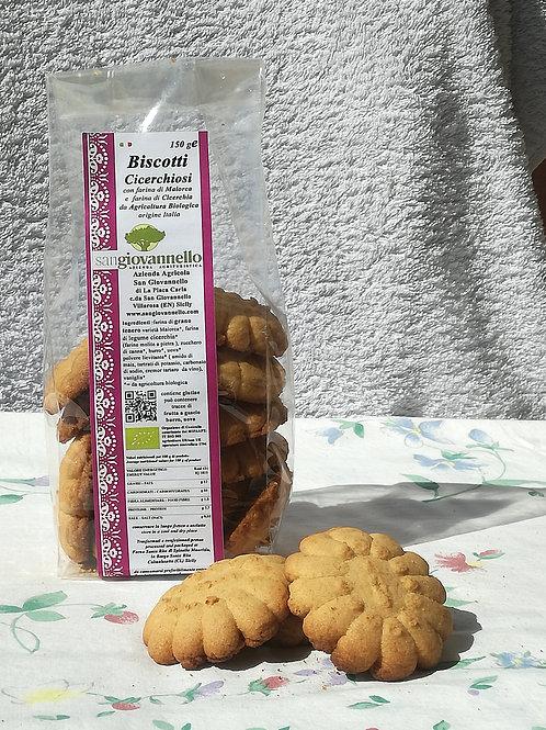 Biscotti Cicerchiosi conf 150 g