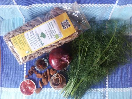 Pasta  di Timilia - Casarecce con le sarde a mare