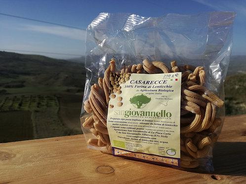 Casarecce 100% farina di lenticchie Bio conf. 250 g