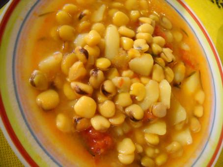 Zuppa di Cicerchie di Aidone