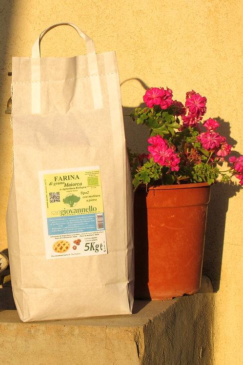 Farina di Maiorca  Bio tipo 2 conf. 5 Kg