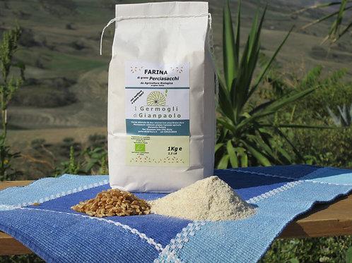 Farina di  Perciasacchi Bio conf. 1 Kg