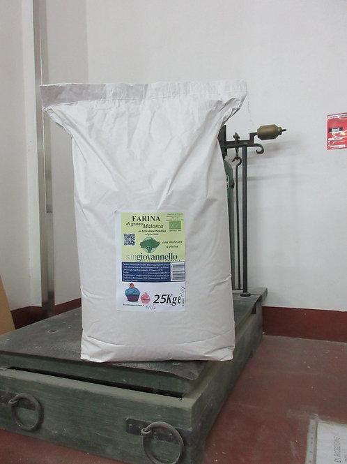 Farina di  Maiorca  Bio  tipo 1 conf. 25 Kg