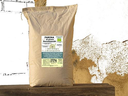 Farina di  Perciasacchi Bio conf. 25 Kg