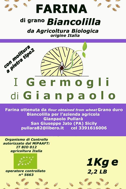Farina di Biancolilla Bio conf. 1 Kg
