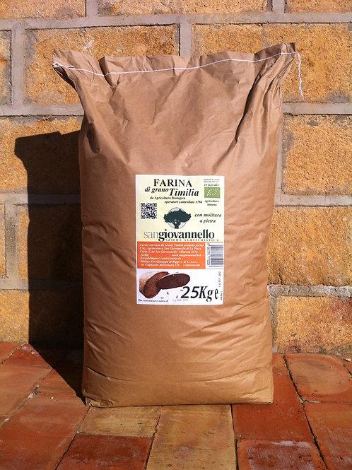 Farina di  Timilia  Bio conf. 25 Kg