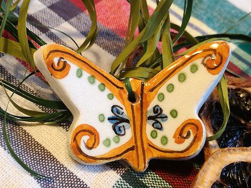 Farfalla - calamita in ceramica