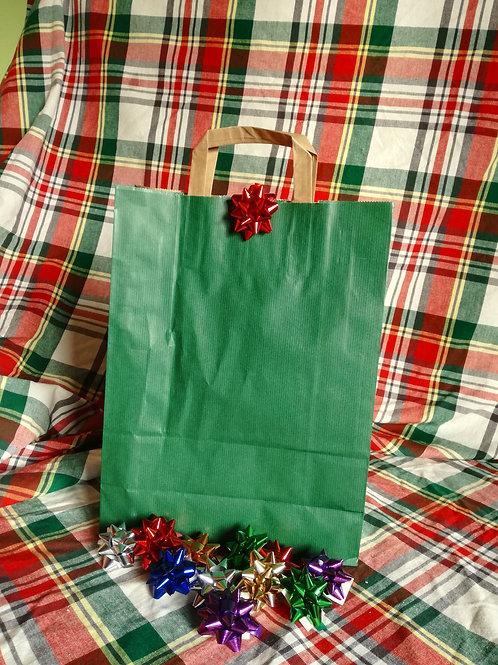 Eco Bag Verde e coccarda