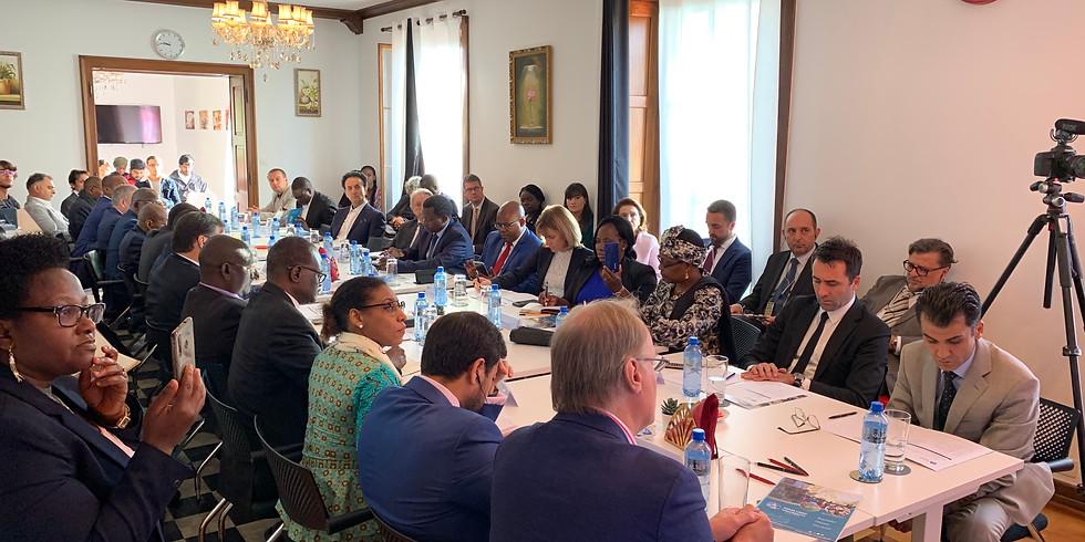 Séminaire - Ma carrière en tant qu'Ambassadeur par l'Ambassadeur de la République du Bénin