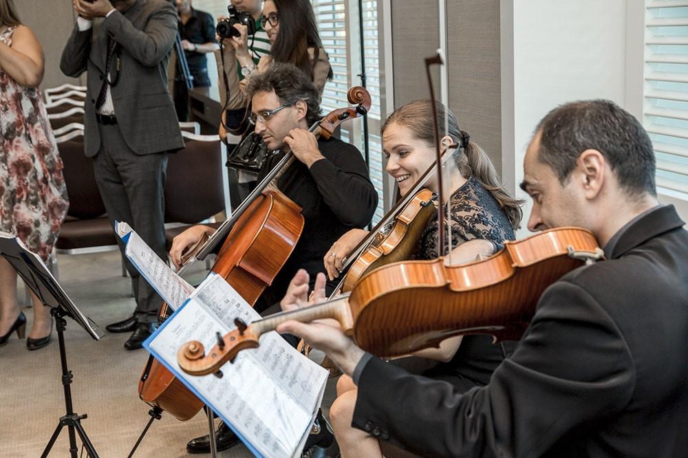 luxueuses cérémonies de remise des diplômes suisses avec orchestre