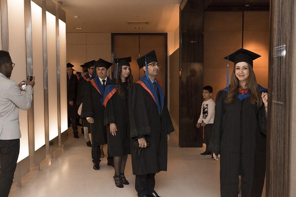 Diplômés et post-diplômés  Cérémonie de remise des diplômes