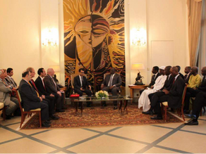 DELEGATION OF SWISS UMEF UNIVERSITY RECEIVED OFFICIALLY BY PRESIDENT OF SENEGAL