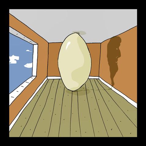 """""""Ester Egg - The Dream of Magritte"""""""