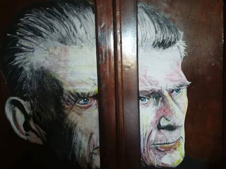 Study for a Beckett Portrait