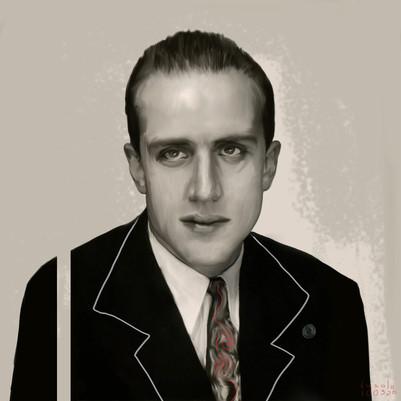 Study for a Portrait - Boris Vian