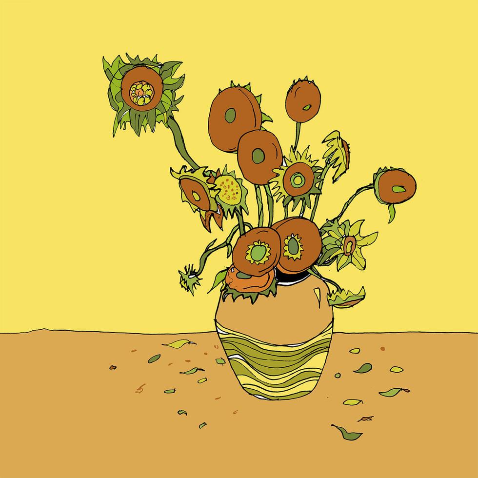 """Fallen"" - an illustration of my project ""Interpretazioni"""