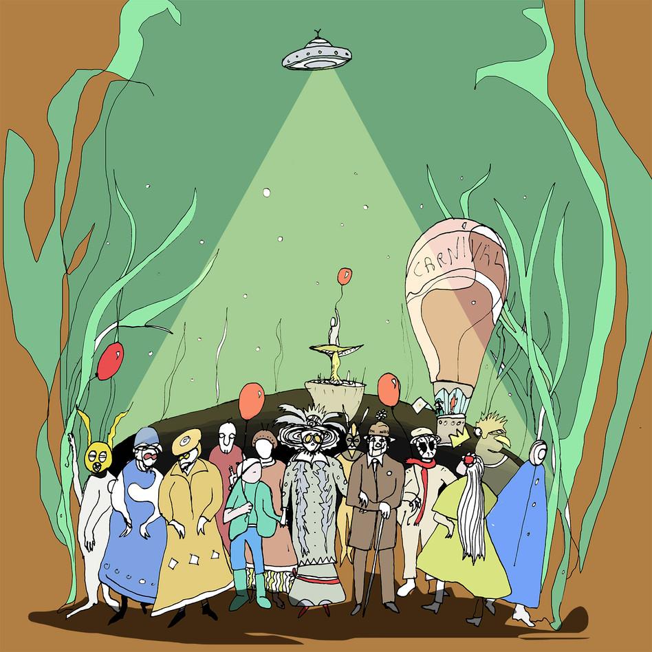 """""""Carnival"""" - an illustration of my project """"Interpretazioni"""""""