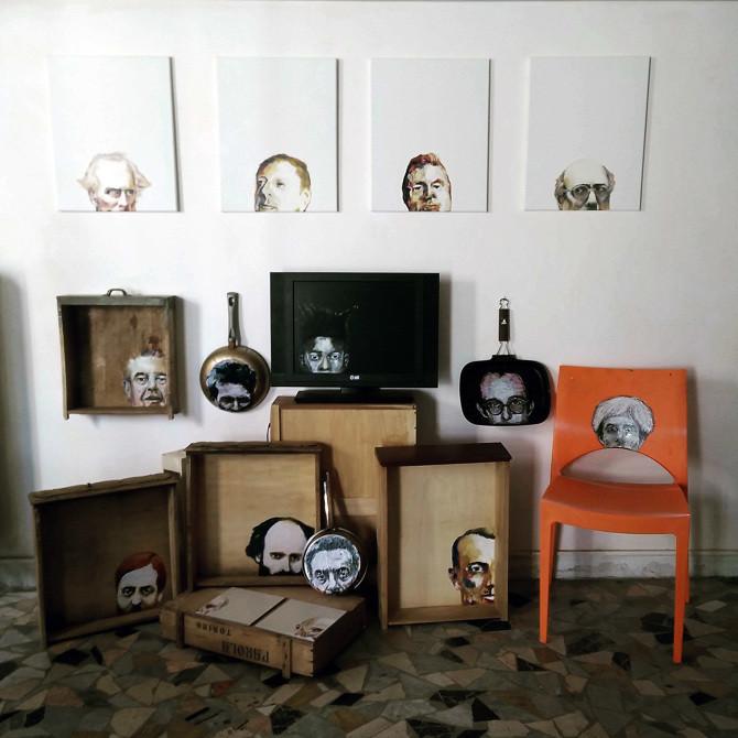 Art Design project  inside my old studio